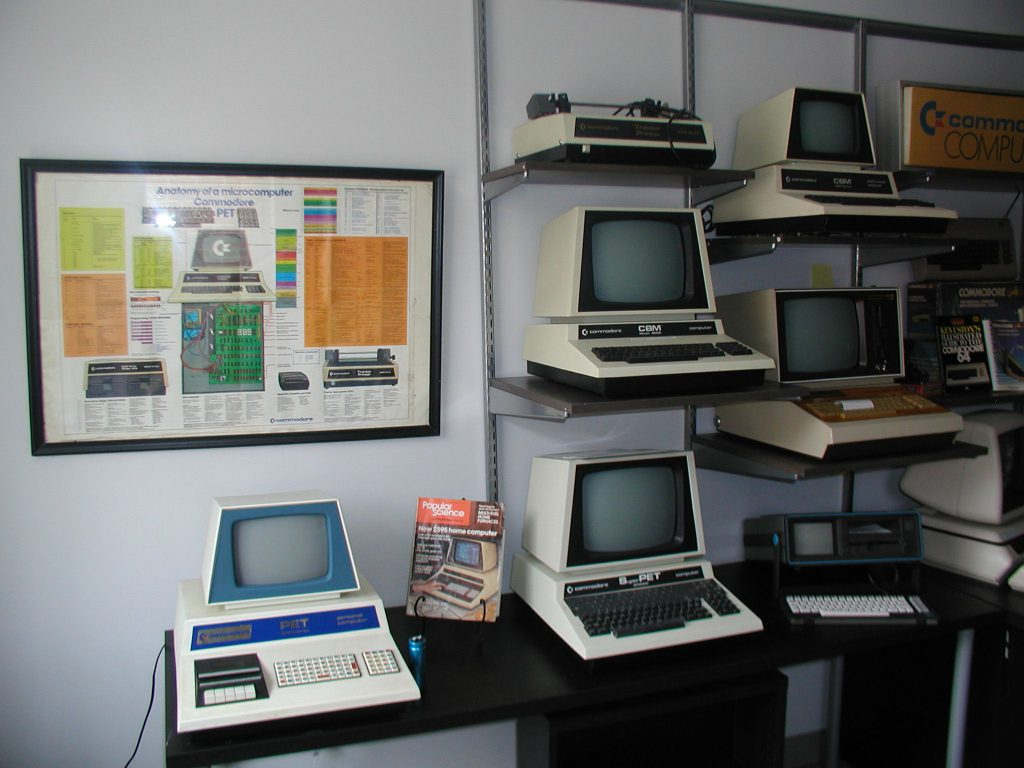 COMMODORE COMPUTERS EXHIBIT