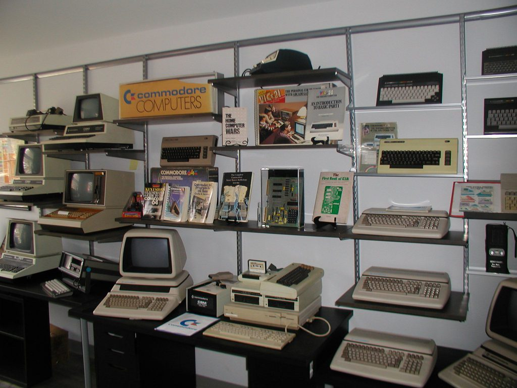 History of Commodore Computer Exhibit