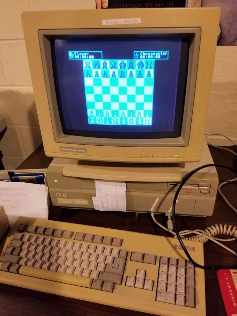 Amiga 2000 Chess